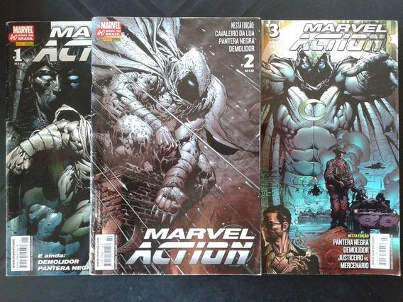 Hq Marvel Action N ° 1 - 2 - 3