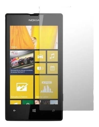 Imagem 1 de 1 de Película Lisa Nokia Lumia 520 N520 Transparente