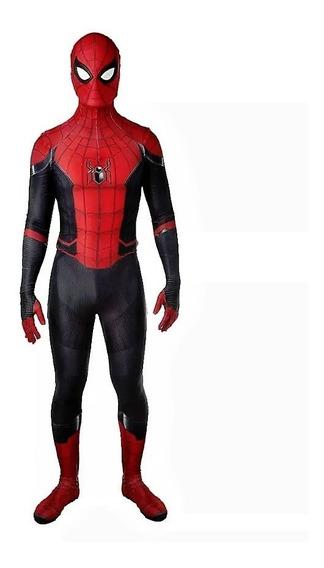 Spiderman Cosplay Far From Home Traje Spiderman Adulto Niño