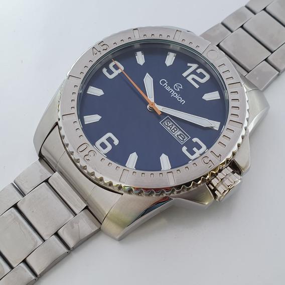 Relógio Champion Ca31588f Calendário