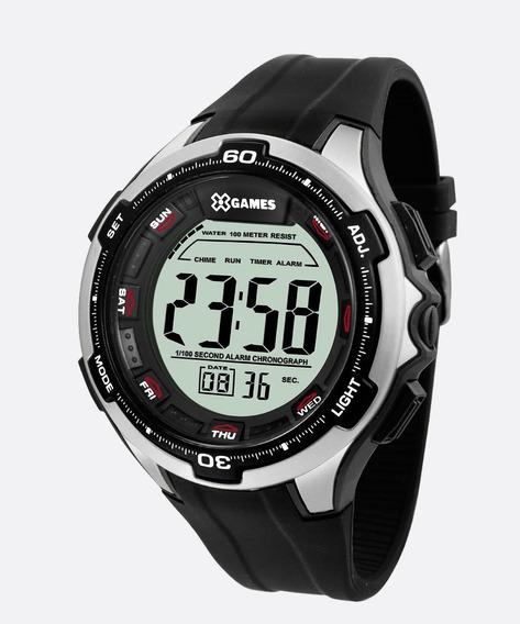 Relógio Xgames Xmppd462 Bxpx Preto Digital Xmppd 462 Grande