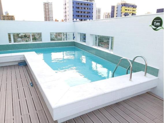 Apartamento Em Manaíra, João Pessoa/pb De 42m² 1 Quartos À Venda Por R$ 259.000,00 - Ap349419