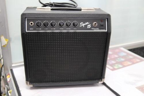 Amplificador De Guitarra Fender Squier 15w Sidekick (120v)