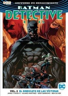 Batman Detective Vol. 2 - El Sindicato De Las Víctimas - Dc