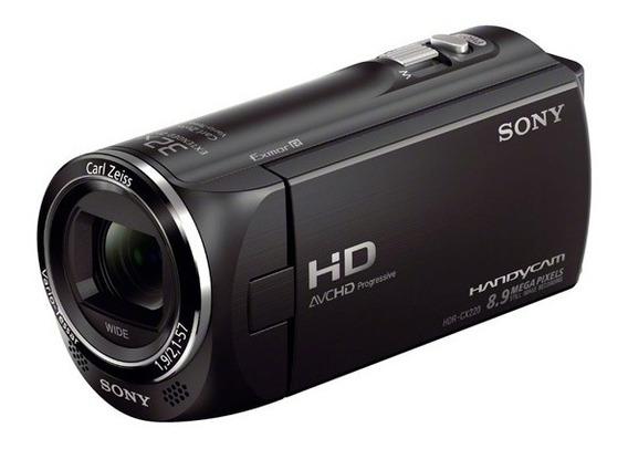 Filmadora Handycam Sony Hdr-cx220 Full Hd Tela Lcd 2.7 Top