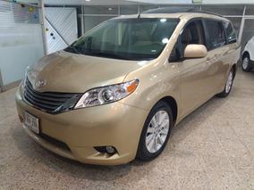 Toyota Sienna Xle Factura Agencia Un Dueño Todo Pagado Piel