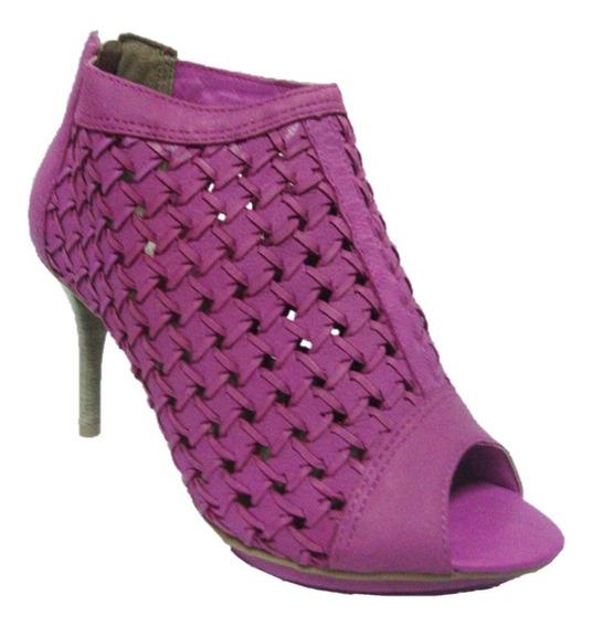 Sandália Ankle Boot Ramarim-fucsia-1148203-super Fashion