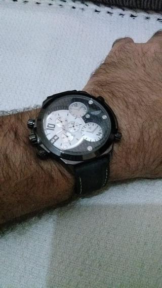 Relógio Potenzia Analógico - 50mm Caixa - Máquina Inversa Br
