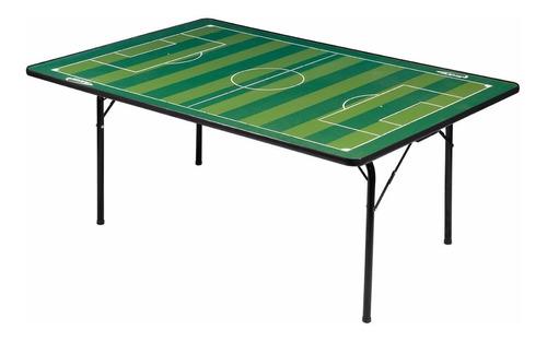 Campo Para Futebol De Botão Com Pés Em Ferro Dobráveis
