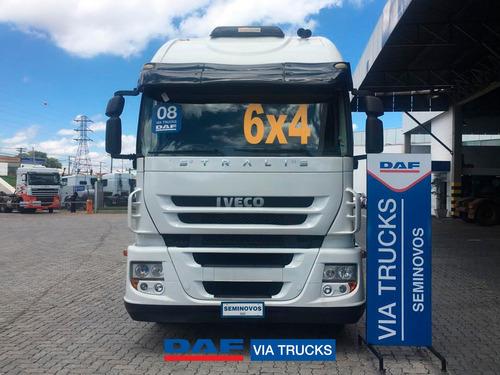 Iveco Stralis Hd 740 740-s42t 3-eixos 2p (diesel) 2008/2008