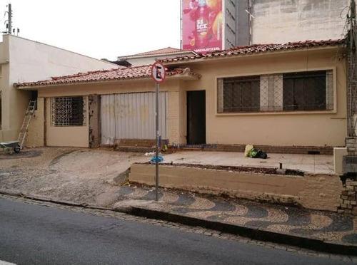 Terreno, 262 M² - Venda Por R$ 1.600.000,00 Ou Aluguel Por R$ 4.000,00/mês - Cambuí - Campinas/sp - Te0956