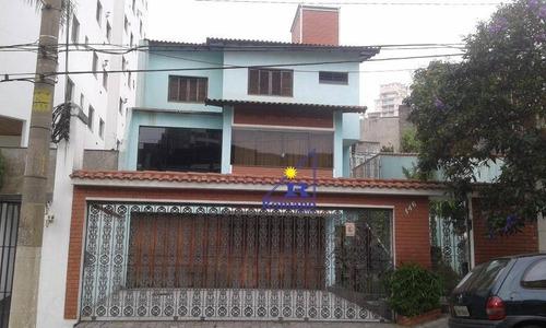 Sobrado Residencial À Venda, Mooca, São Paulo. - So0756