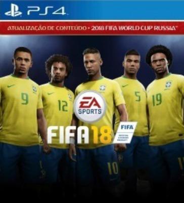 Fifa 18 - Ps4 Midia Digital