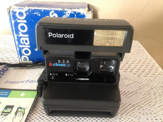 Otima Camera Fotografica Polaroid 636(leia O Anuncio)
