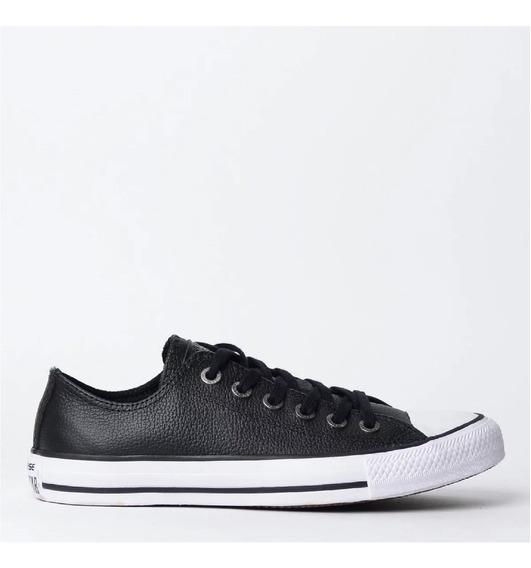 Tenis All Star Chuck Taylor Ct04480002 Couro Pto