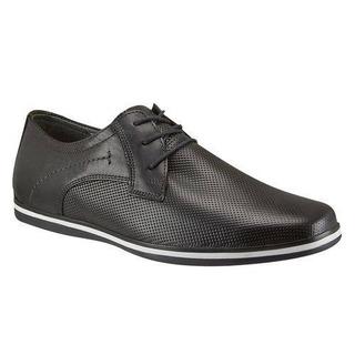 Zapato, Casual, Caballero, Flexi, Color Negro, Verano, Envío