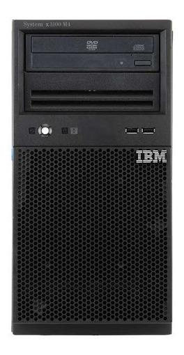 Servidor Ibm X3300 M4 Hd Sas 3tb Xeon Sixcore 48g Ram