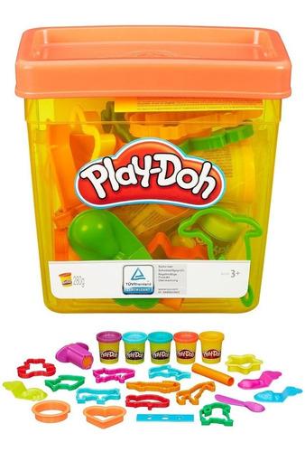 Play Doh Balde De Actividades Ref B1157 Masa Plastilina