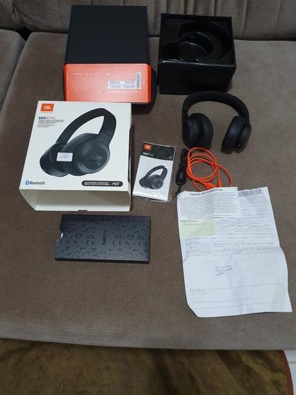 Fone Jbl E65bt Nc Bluetooth Preto