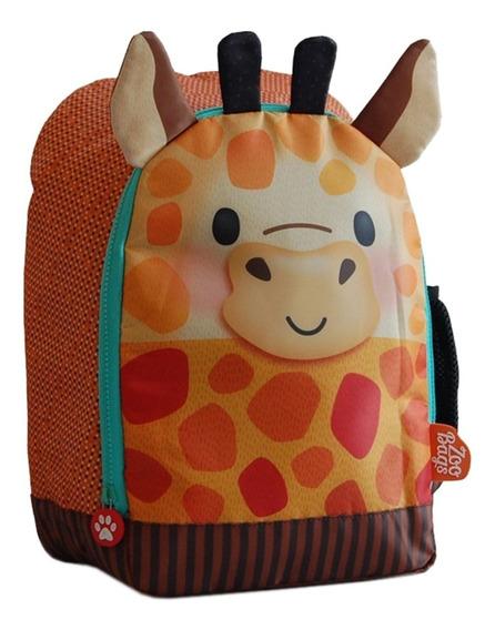 Mochila Espalda Jardin 14 PuLG Zoo Bags Animalitos Unicornio