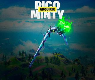 Pico Minty Axe | Fortnite Pico Exclusivo