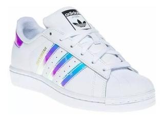 Zapatillas Blancas De Cuero Mujer Adidas - Deportes y ...