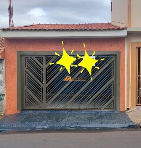Casa Com 2 Dormitórios À Venda, 90 M² Por R$ 260.000,00 - Sumarezinho - Ribeirão Preto/sp - Ca2591