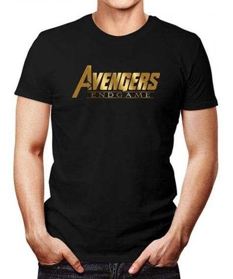 4 Playeras Avengers Endgame Para Familia Y Amigos 4 Pack