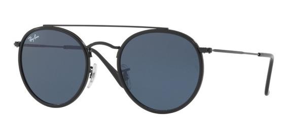 Anteojos Gafas Lentes Sol Ray Ban Round Rb3647 002/r5 -
