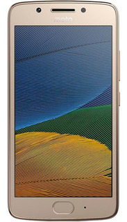 Celular Motorola Moto G5 Ouro Usado Seminovo Excelente