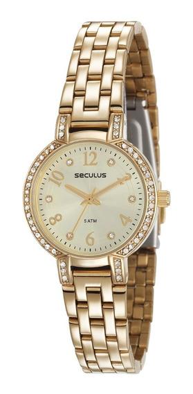 Relógio Seculus Feminino 23595lpsvds1