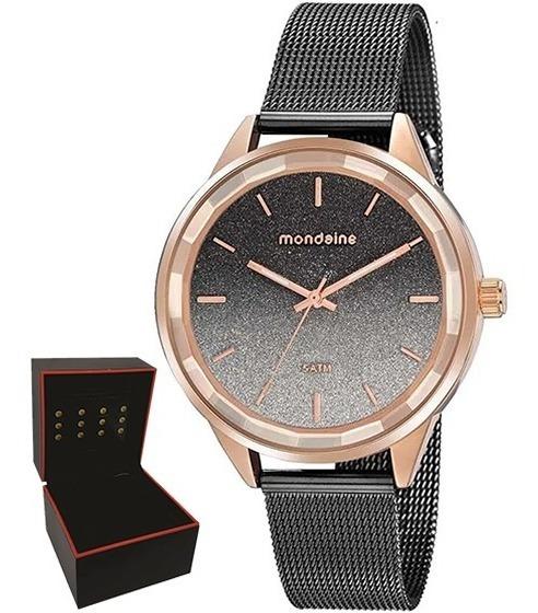 Relógio Mondaine Feminino Original Garantia Nf 76735lpmvie3