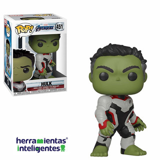 Hulk Marvel Endgame Funko Pop Película Avengers