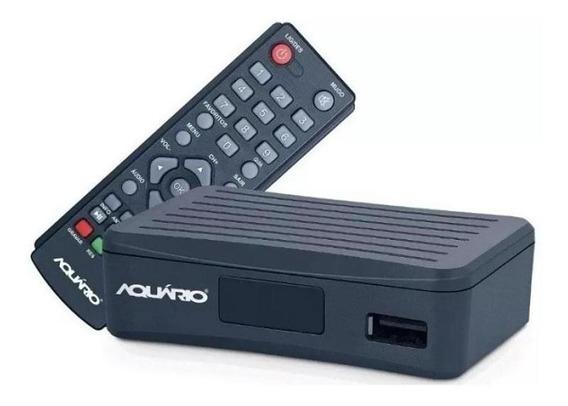 Conversor E Gravador Digital Aquário Dtv-4000s - Preto
