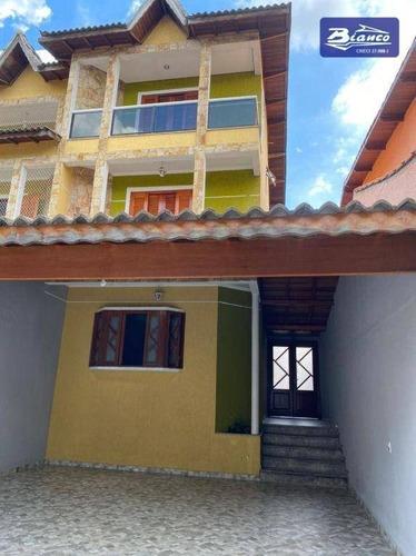 Imagem 1 de 30 de Sobrado Com 4 Dormitórios À Venda, 186 M² Por R$ 900.000,00 - Jardim Bom Clima - Guarulhos/sp - So1680