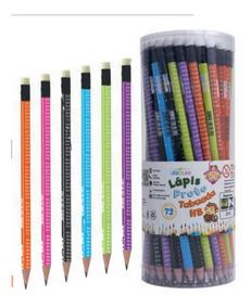 Pote C/ 72 Lápis Tabuada Com Borracha,lápis De Escrever