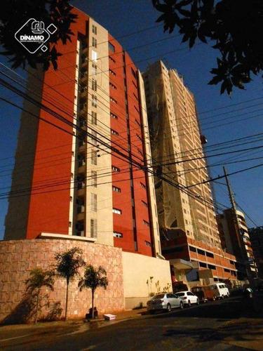 Imagem 1 de 17 de Apartamento Com 3 Dormitórios À Venda, 121 M² - Jardim Botânico - Ribeirão Preto/sp - Ap0994