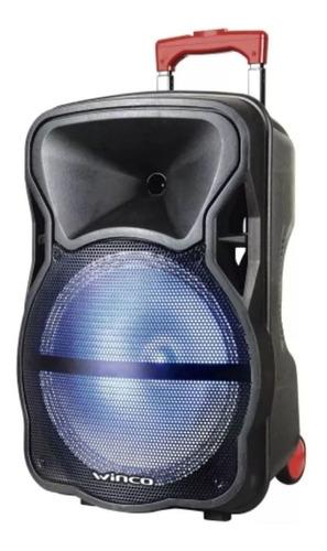 Parlante Winco W239 portátil con bluetooth negro 220V