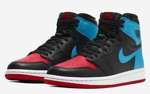 Tenis Nike Jordan1 Unc To Chicago