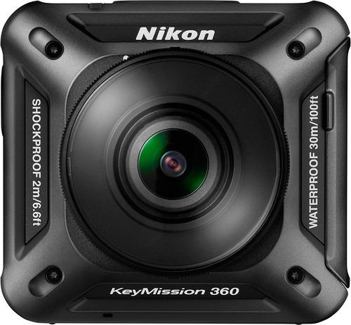 Imagen 1 de 5 de Nikon Keymission 360 |cámara De Acción En 360 Grados 4k Wifi