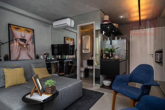 Studio Com 1 Dormitório À Venda, 33 M² Por R$ 394.069,00 - Bela Vista - São Paulo/sp - St0045