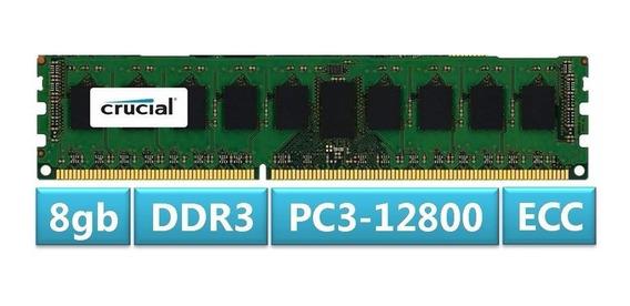 Memoria Ram 8gb Ddr3 1600mhz Ecc Pc3-12800 Crucial