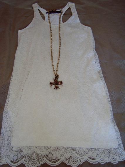 Vestido De Encaje Rapsodia Enagua Eventos Fiesta Casamiento