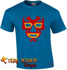 Playera Lucha Libre Dos Caras By Tigre Texano Designs
