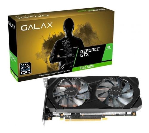 Imagem 1 de 6 de Placa De Vídeo Nvidia Galax Geforce Gtx 1660 Super 6gb
