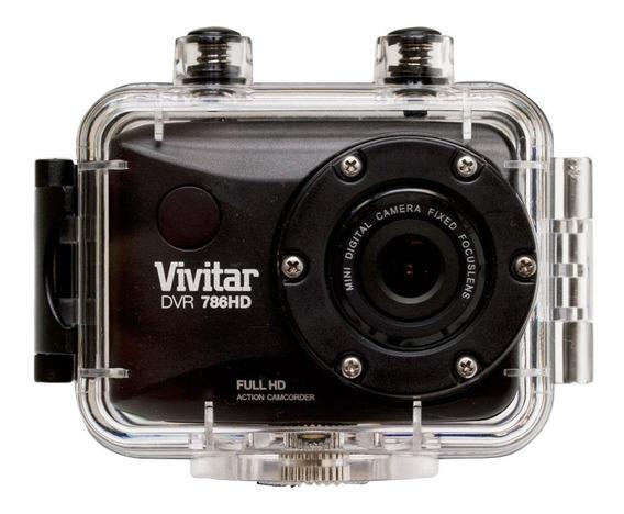 Câmera Filmadora Ação Fullhd Prova Água Controle Suportes