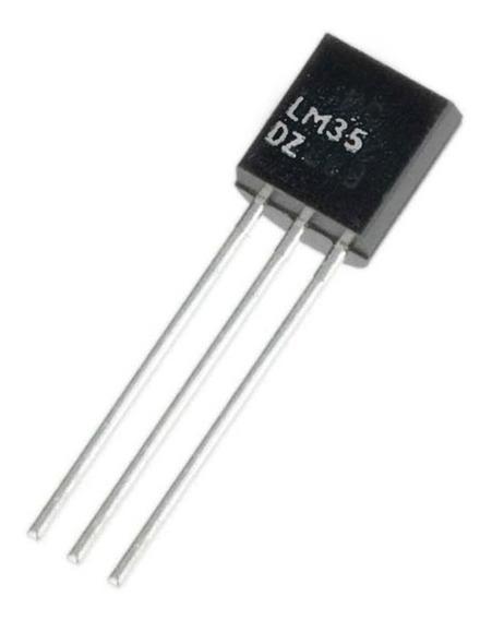 5x Sensor De Temperatura - Lm35 - Pacote Com 5 Unidades Nfe