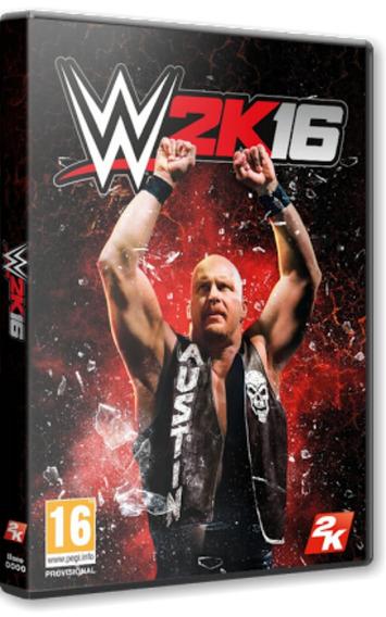 Wwe 2k16 Deluxe Edition - Pc Dvd - Mídia Física - Frete 8 R$