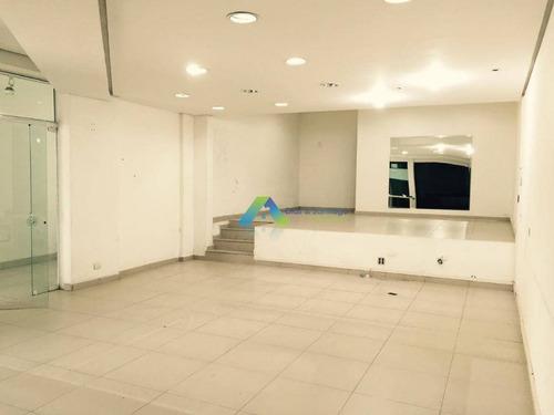 Salão Para Alugar, 110 M² Por R$ 3.300,00/mês - Mirandópolis - São Paulo/sp - Sl0054