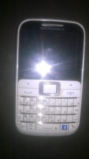 Celular Motorola Ex 117 Retirada De Peças